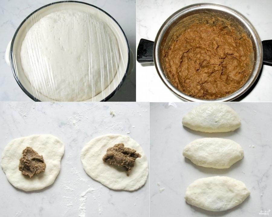 Пирожки с чечевицей - фото шаг 2