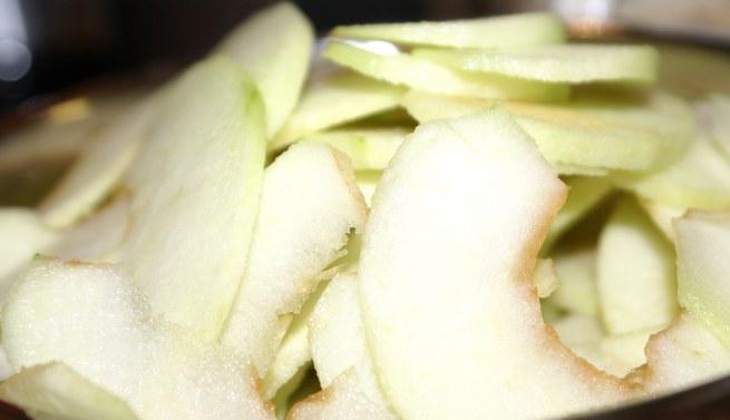 Рецепт Творожный пудинг с яблоками