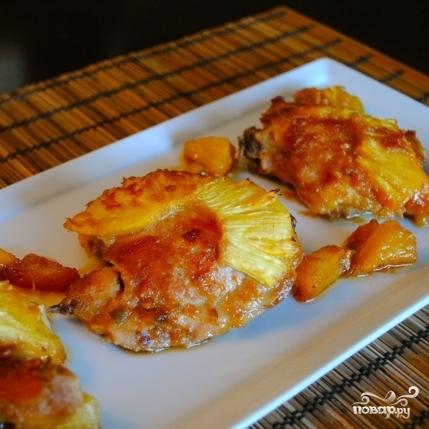 Курица, запеченная с ананасами - фото шаг 9