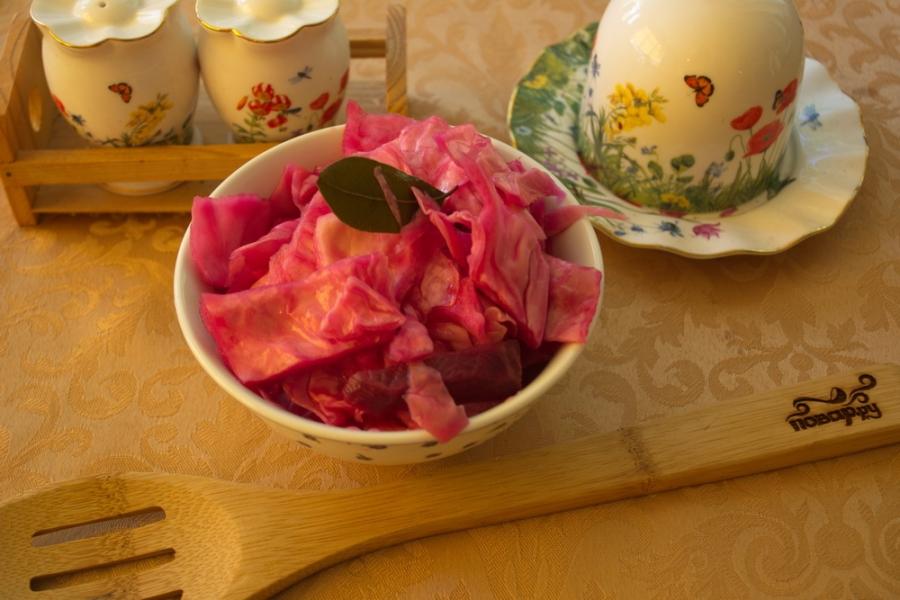 Маринованная капуста по-корейски - фото шаг 5
