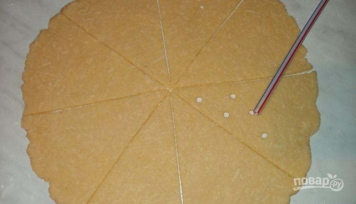 Коктейльное печенье с сыром - фото шаг 6