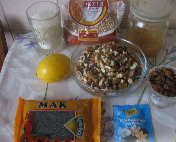 Рецепт Сочиво с изюмом и орехами