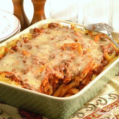 Рецепт Макароны с фаршем в духовке