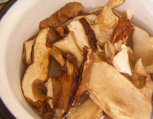 Рецепт Грибная лапша из сушеных грибов