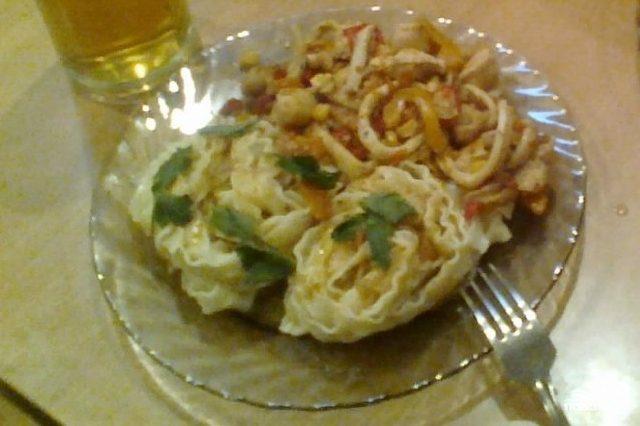 Рецепт Кальмары по-мексикански