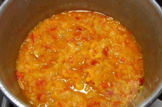 Кабачковая икра с перцем на зиму - фото шаг 2