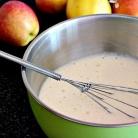 Рецепт Карамельные блинчики с яблоками