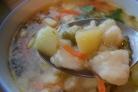 Картофельный суп с клецками