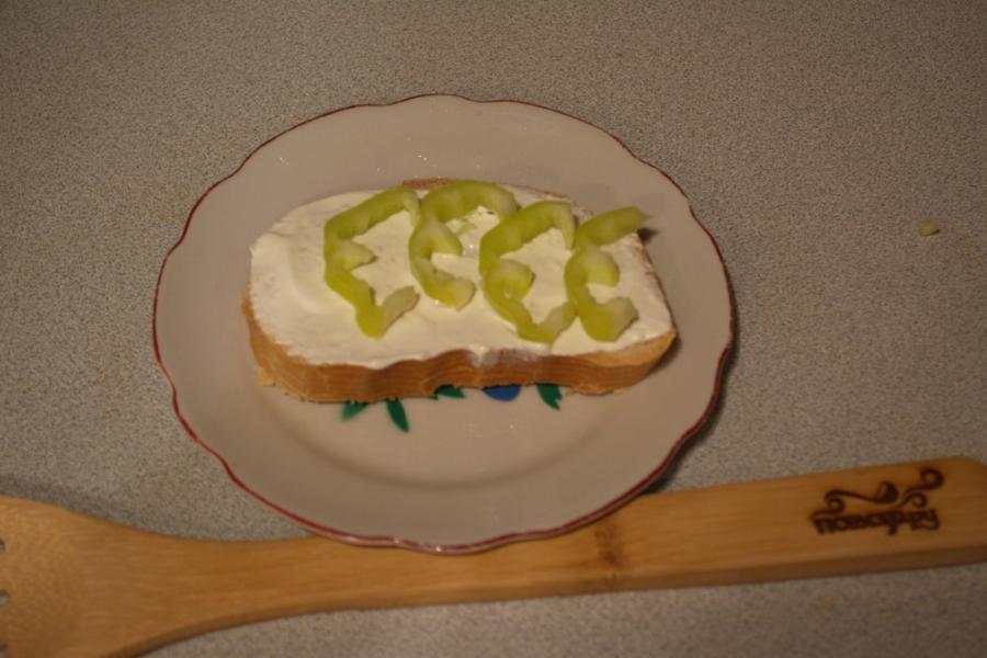 Запеченные тосты с паприкой - фото шаг 3