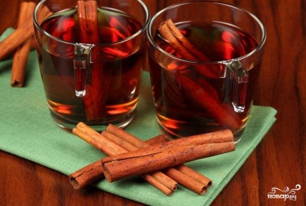 Рецепт Вино с корицей
