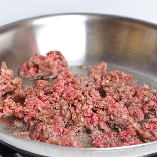 Блинчики с мясом - фото шаг 5