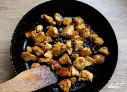 Куриная грудка в кисло-сладком соусе - фото шаг 7