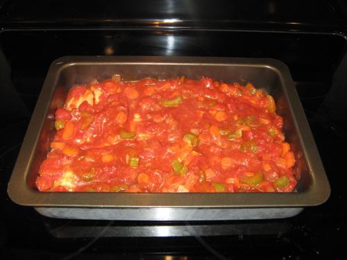 Куриные грудки с томатным соусом - фото шаг 6