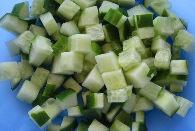 Рецепт Салат из сосисок и яиц
