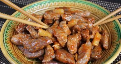 Свинина по-китайски с ананасами - фото шаг 7
