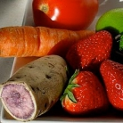 Рецепт Витаминный напиток из свеклы, клубники и батата