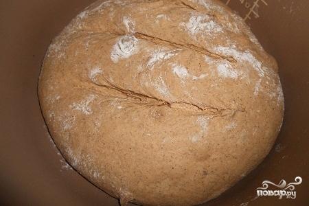 Бездрожжевой ржаной хлеб в мультиварке - фото шаг 6