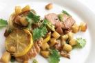 Свинина с лимоном и картофелем