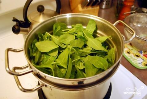 Рецепт Гарнир из шпината
