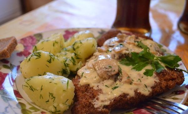 Сырно-грибной соус - фото шаг 9