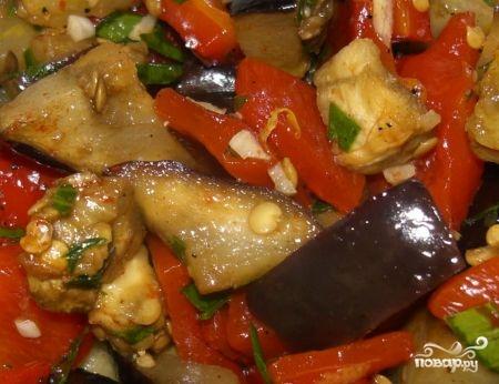 Рецепт Салат из баклажанов на зиму