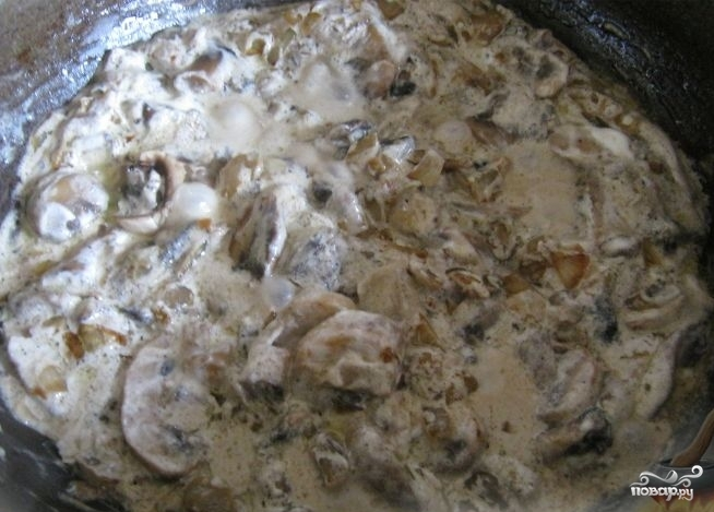 Белые грибы в мультиварке - фото шаг 4