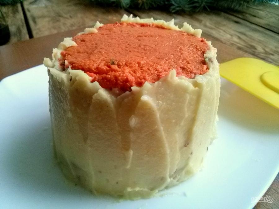 """Новогодний торт """"Кукареку"""" - фото шаг 8"""