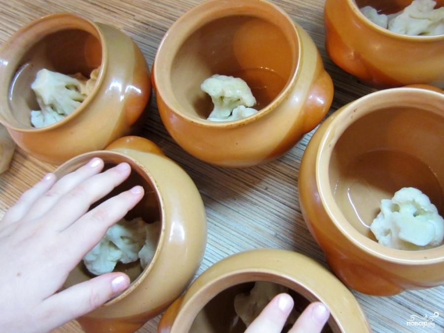 Овощи, тушеные в горшочке - фото шаг 6