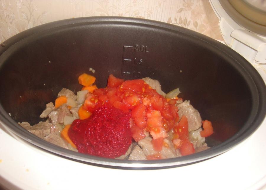 Вкусный суп из говядины в мультиварке рецепт с фото