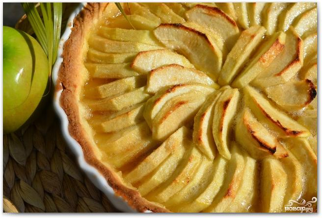 Французский яблочный тарт - фото шаг 11