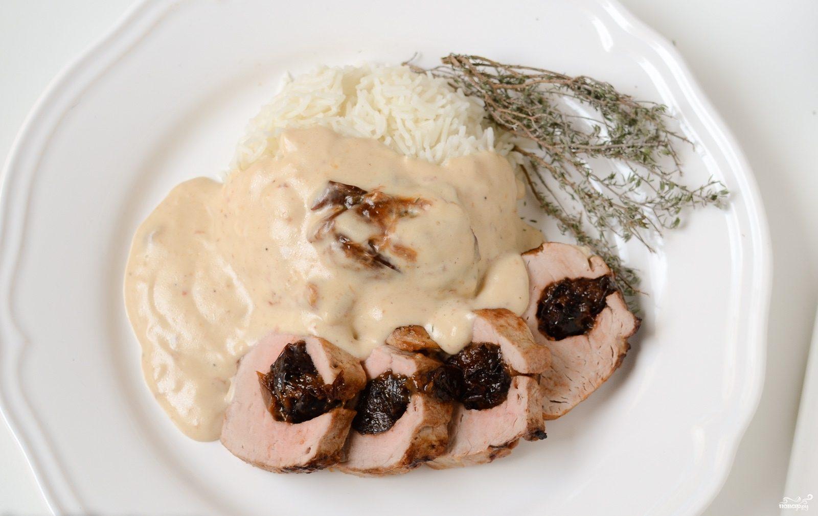 Рецепт с пошаговый свиная вырезка