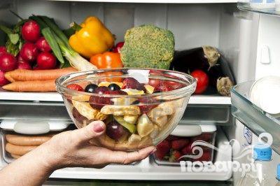 Простой фруктовый салат - фото шаг 4