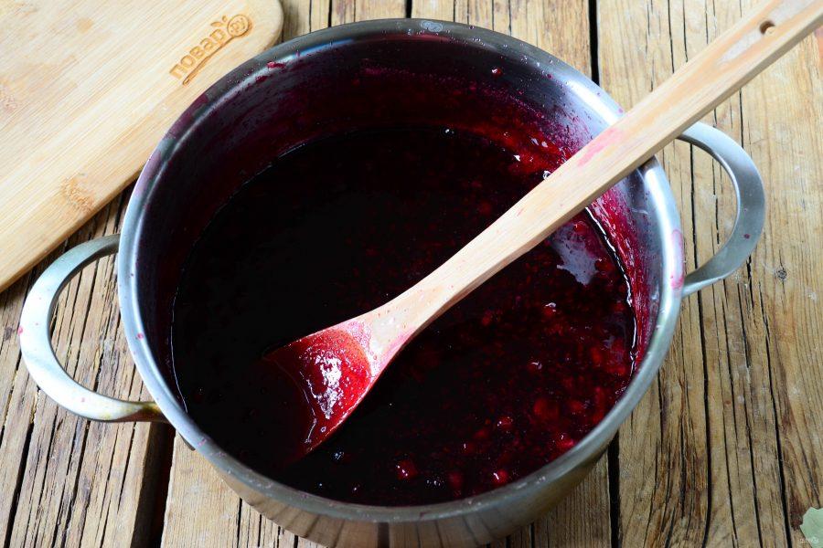 Джем красной смородины на зиму
