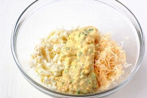 Салат с курицей и мандаринами - фото шаг 9