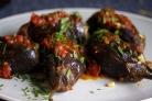 Баклажаны, фаршированные мясом и рисом