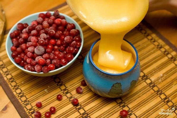 Рецепт Клюква с медом