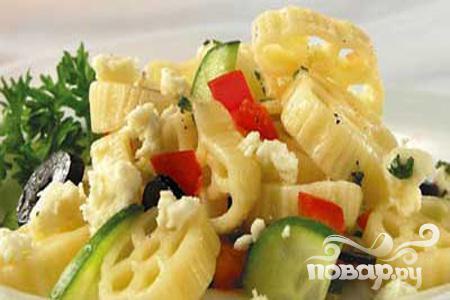 Рецепт Салат с брынзой по-гречески