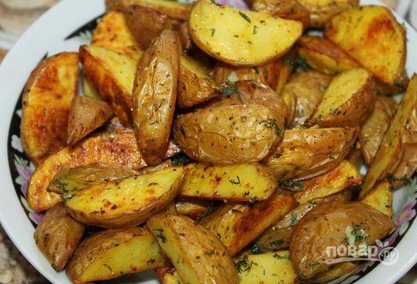 Деревенская картошка - фото шаг 6