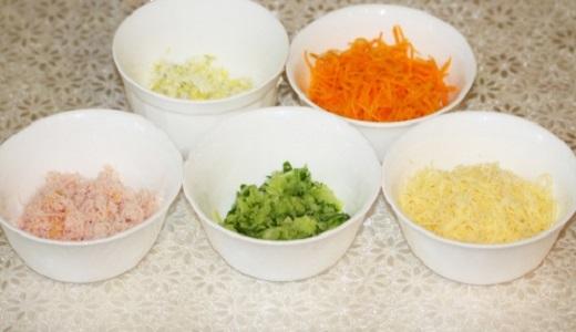 Рецепт Лаваш с корейской морковкой и крабовыми палочками