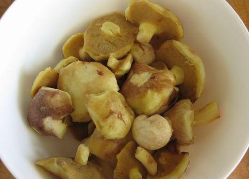 Рецепт Картофельные биточки с грибами