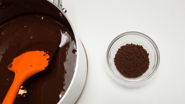 Шоколадно-кофейное печенье - фото шаг 4