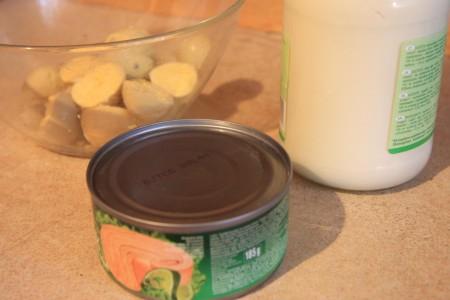 Яйца фаршированные с сыром - фото шаг 3