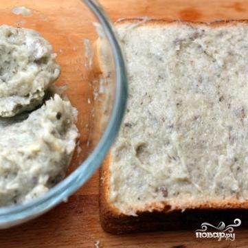 Креветочные тосты - фото шаг 3