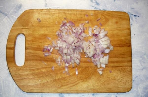 Фаршированные ракушки под сливочным соусом - фото шаг 4