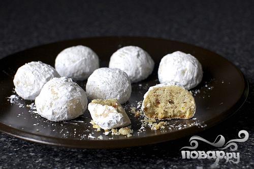 Печенье с запеченными каштанами
