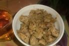 Свинина, жаренная на сковороде кусочками