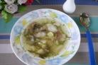 Суп рыбный с грибами