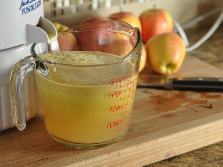 Рецепт Сидр из яблочного сока