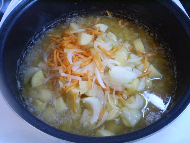 суп гороховый с копченым салом пошаговый рецепт с фото