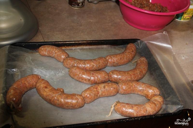Колбаски куриные - фото шаг 7